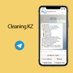 "Cleaning KZ <br> <p style=""font-size: 15px;"">Бот для клининговой компании</p><br>"