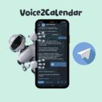 "Voice2Calendar <br> <p style=""font-size: 15px;"">Чат-бот для планирования событий в Google Calendar</p><br>"
