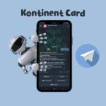 "Kontinent Card <br> <p style=""font-size: 15px;"">Чат-бот для отслеживания ресторанов</p><br>"