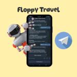 "Floppy Travel <br> <p style=""font-size: 15px;"">Чат-бот для поиска отелей</p><br>"