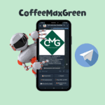 "CoffeeMaxGreen <br> <p style=""font-size: 15px;"">Чат-бот для для лидера поставки кофе</p><br>"