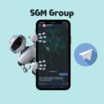 "SGM Group<br> <p style=""font-size: 15px;"">Чат-бот для управления 1С</p><br>"